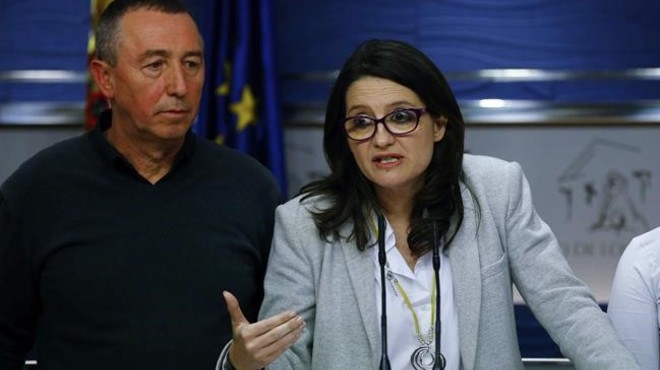 Compromís pide a PSOE y Podemos que presenten la moción después del verano