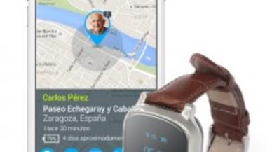 La empresa zaragozana Neki presenta un localizador para los mayores