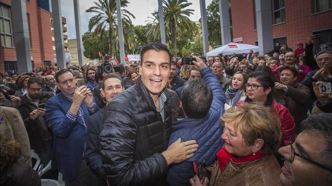 PedroSánchez dará el salto, y anuncia queempezará por Sevilla.