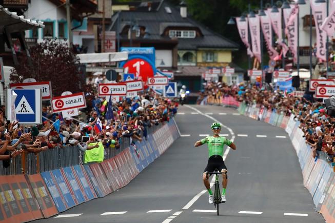 Pierre Rolland triunfa en el Giro.
