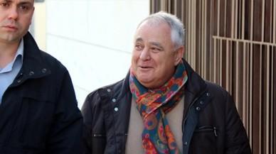 El extesorero de CDC Andreu Viloca, a su llegada a los juzgados del Vendrell el pasado 15 de febrero.