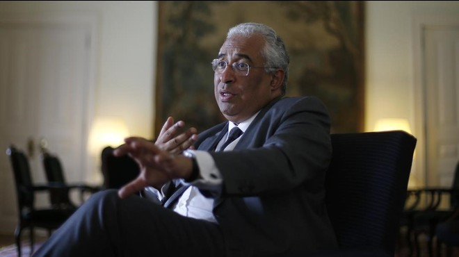 El primer ministro portugu�s Antonio Costa