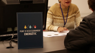 Els punts d'assessorament energètic de Barcelona permeten evitar 150 talls de subministraments