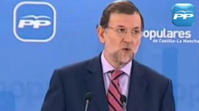 """Rajoy el 2010 sobre la pujada de la llum del PSOE: """"Ni tan sols per Nadal tenen un detall d'afecte"""""""