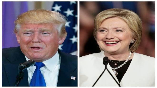 Hillary y Trump, ganadores del supermartes.
