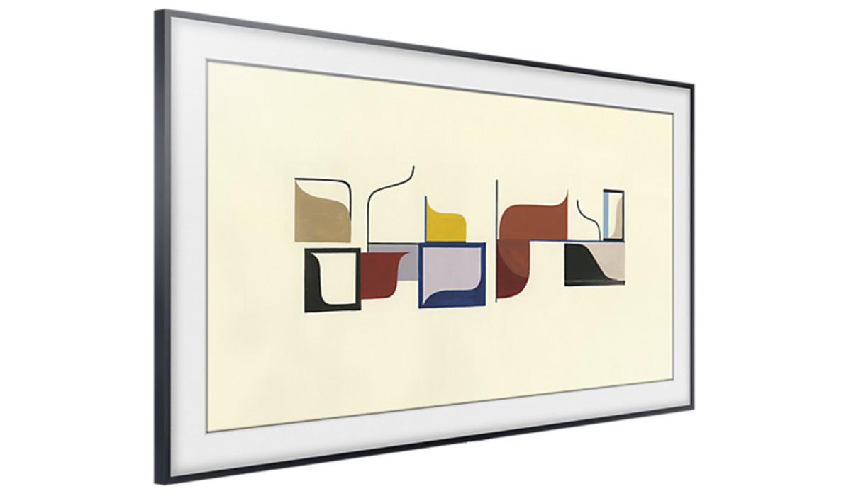 llega the frame el 39 televisor cuadro 39 de samsung. Black Bedroom Furniture Sets. Home Design Ideas