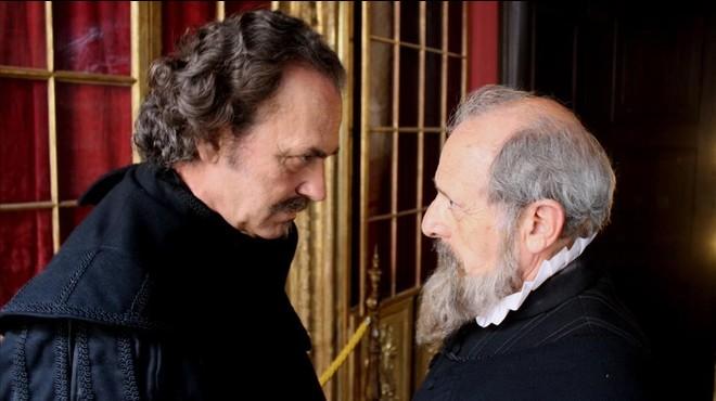 Cervantes y Lope se encuentran en Barcelona