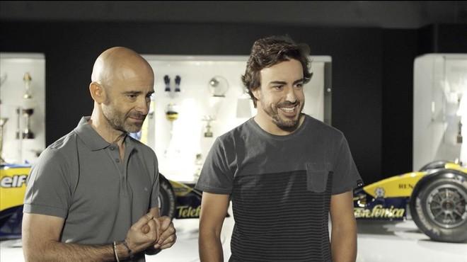 Fernando Alonso donarà l'alternativa al seu amic Antonio Lobato a 'Desafía tu mente'