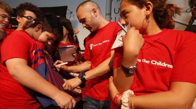Iniesta, gol al 'bullying'