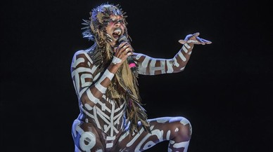 Grace Jones, encara inquietant
