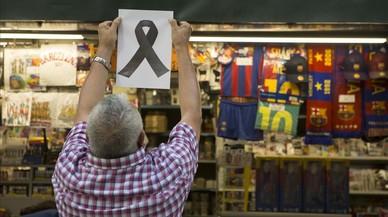 Barcelona premia al comercio de la Rambla por su respuesta el 17-A
