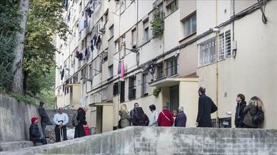 Los pisos en Ciutat Meridiana suben un 41% mientras arrecian los desahucios
