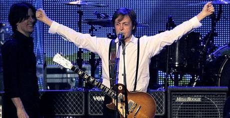 Paul McCartney, en una actuación en marzo del 2012 en Los Ángeles.