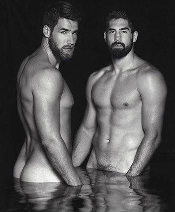 Desnudo solidario de Karabatic