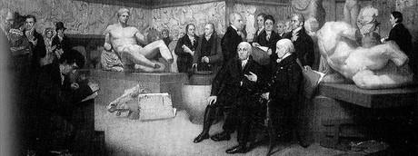 Traslado de los m�rmoles, en 1961, a la sala donde ahora se exponen en el Museo Brit�nico.