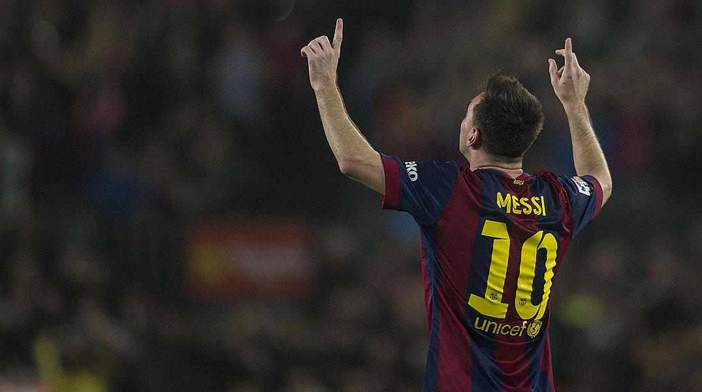 El Bar�a felicita a Messi con un v�deo