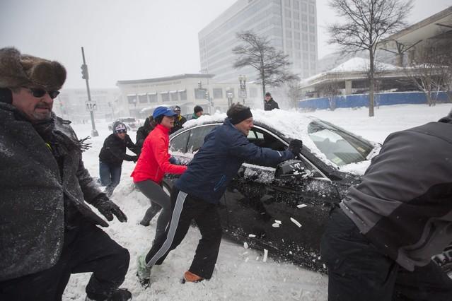La tormenta Jonas golpea la capital de EEUU