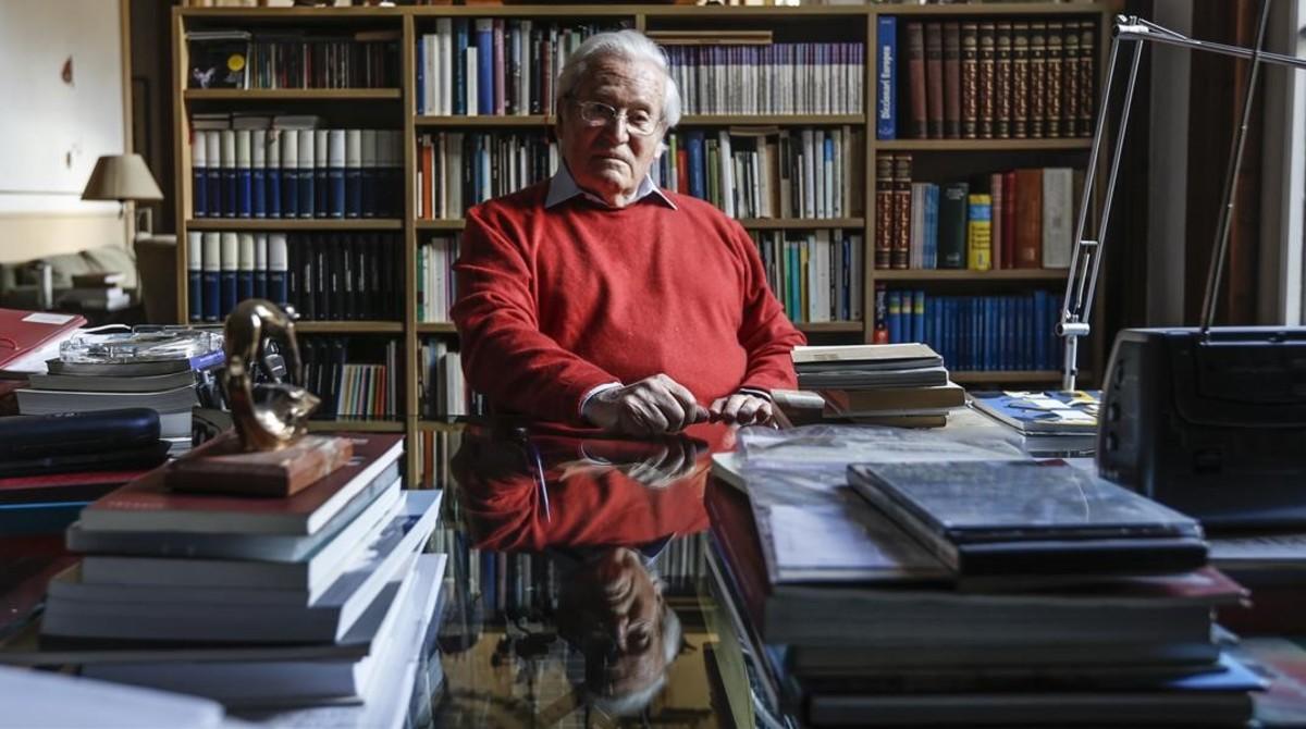 Oriol Bohigas, l'urbanista que va obrir Barcelona al mar