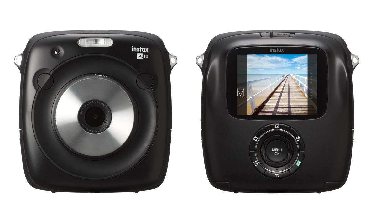 La cámara híbrida Fujifilm Instax SQ10.