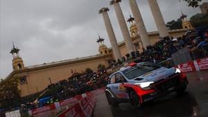 RallyRACC en Barcelona montjuic