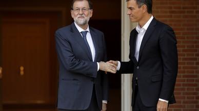 Rajoy i Sánchez volen que les eleccions catalanes siguin a final de gener
