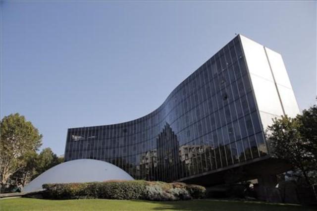 Sede del Partido Comunista Francés en Paris. Obra de Óscar Niemeyer