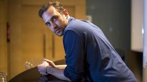 El escritor Joël Dicker el pasado mes de abril en Barcelona.