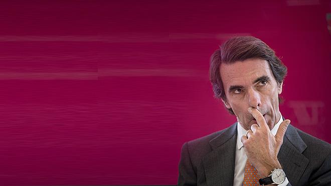 Aznar retrreu a Rajoy les cessions al PSOE i a Ciutadans en la seva reaparició