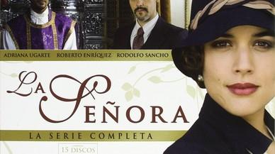 El cartel de la serie de TVE-1 'La se�ora'