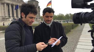 """Andreu Jerez i Franco Delle Donne: """"Votar la ultradreta és mostrar una targeta vermella al sistema"""""""