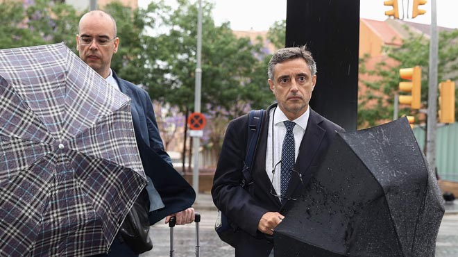 """El fiscal denuncia un """"esquema mental"""" que va identificar CDC amb la Generalitat"""