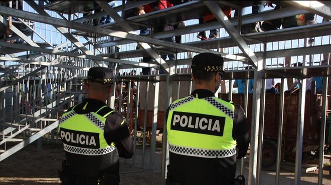 Bous sota vigilància policial
