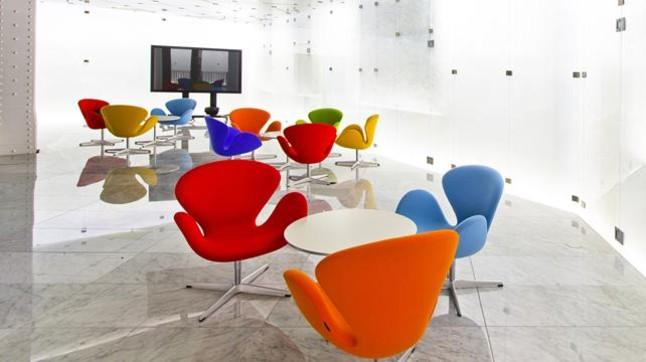 Barcelona presenta el centro de exposición del Mobile World Capital en su edificio de Portal de l'Àngel
