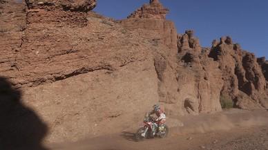 Barreda arrasa en la tercera etapa i es posa líder al Dakar