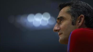 """Valverde: """"Espero tenir una plantilla d'acord amb les exigències"""""""
