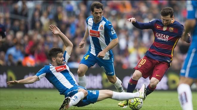 L'un x un de l'Espanyol en el derbi