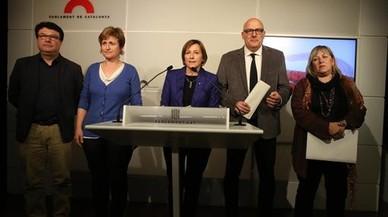 El TSJC admite la querella contra Forcadell y tres miembros de la Mesa del Parlament