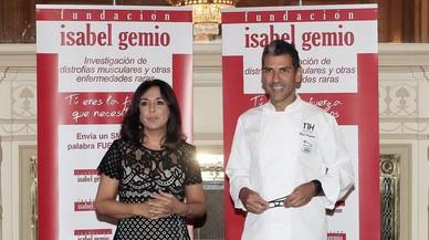 Isabel Gemio i Paco Roncero presenten el sopar solidari 10 Estrelles Michelin