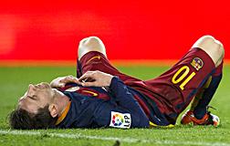 Messi, la semana pasada.