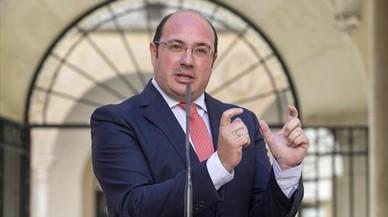 Moció de censura del PSOE a Múrcia contra Sánchez