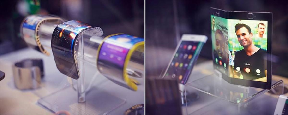 Lenovo muestra los primeros móviles y tabletas flexibles