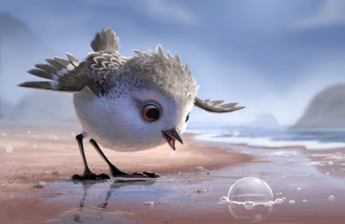 Aquí puedes ver 'Piper', quizá el corto más bello de Pixar