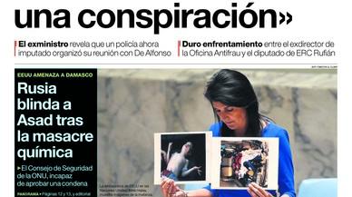 De l'exministre de la guerra bruta, una víctima, i del PP, que s'aïlla del final basc d'ETA