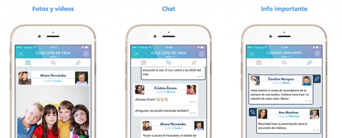 Qids, app alternativa a los grupos de padres en WhatsApp