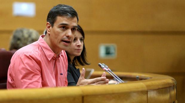 """Sánchez critica el Govern central i Maza per falta de """"mesura"""" davant l'1-O"""