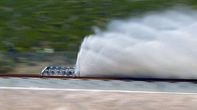 El tren del futur, Hyperloop, fa la seva primera prova amb èxit