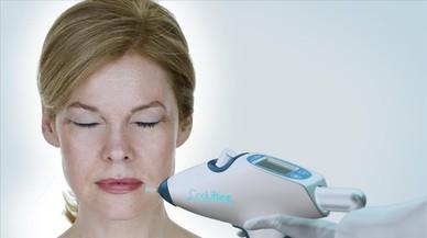 El tratamiento CooLifting alisa la piel en 5 minutos de forma indolora y no invasiva.
