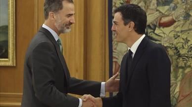 """Sánchez insta Rajoy a impulsar una """"solució política"""" a Catalunya"""
