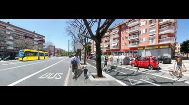 Territori adjudica el projecte de carril bus i via ciclista a la C-245, al Baix Llobregat