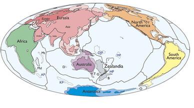 Zelandia, el nuevo continente hallado en el Pacífico.